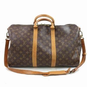 Auth Louis Vuitton Keepall Bandouliere #1777L31